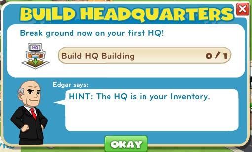 Build Headquarters