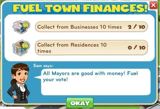 Fuel Town Finances!