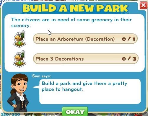 Build a new Park