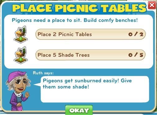 Place Picnic Tables