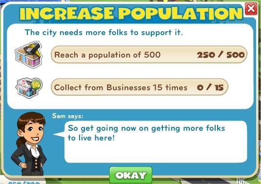 Increase Population