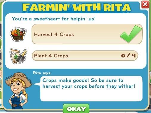 Farm in' With Rita