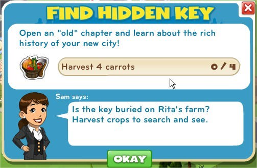 Find Hidden Key