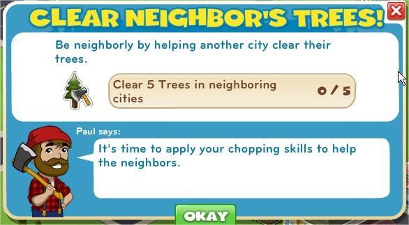 Clear Neighbor's Trees!
