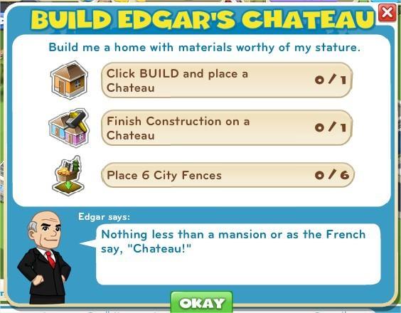 Build Edgar's Chateau