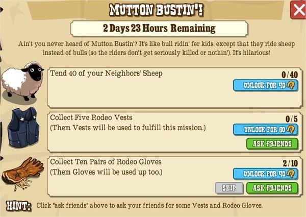 MUTTON BUSTIN'!