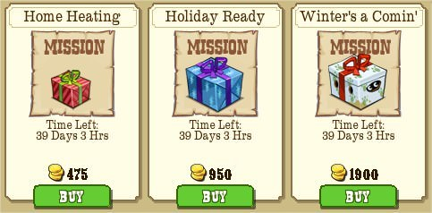 GIFT MISSIONS