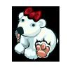 Festive Polar Bear
