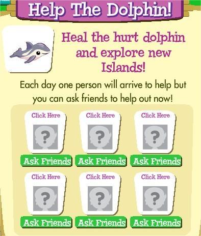 Treasure Isle 寶藏島, 拯救海豚