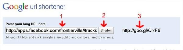 FrontierVille, 短連結