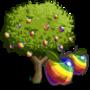 Rainbow Apple Tree 彩虹蘋果樹