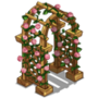 Pink Rose Arbor