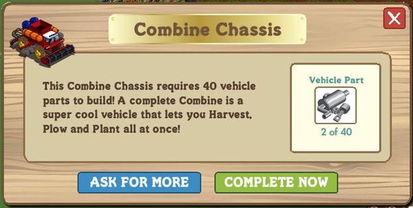 FarmVille, Combine Chassis