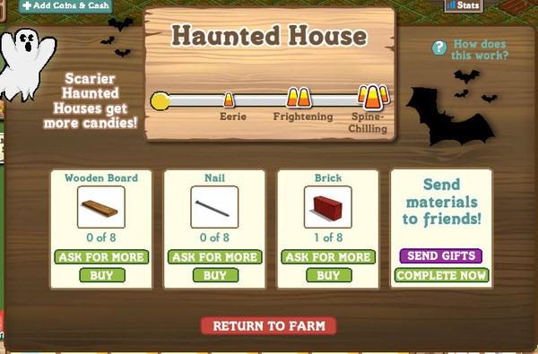 FarmVille, Haunted House