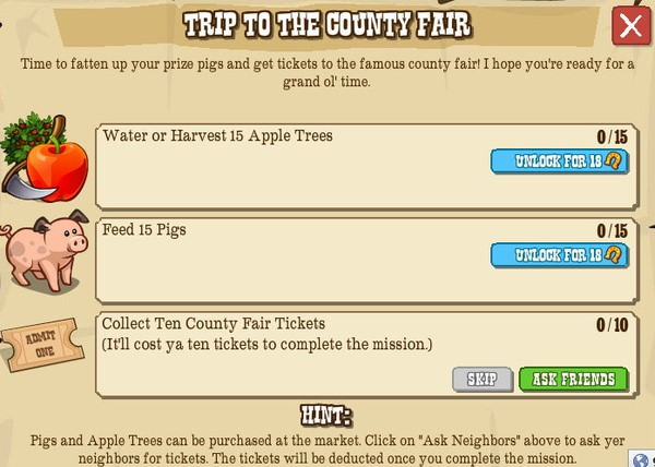 TRIP TO THE COUNTY FAIR