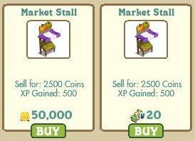 farmville, 農友市場