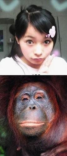流行美女表情7