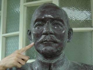 惡搞國父銅像1