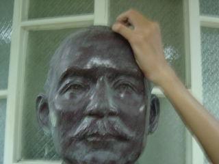 惡搞國父銅像7