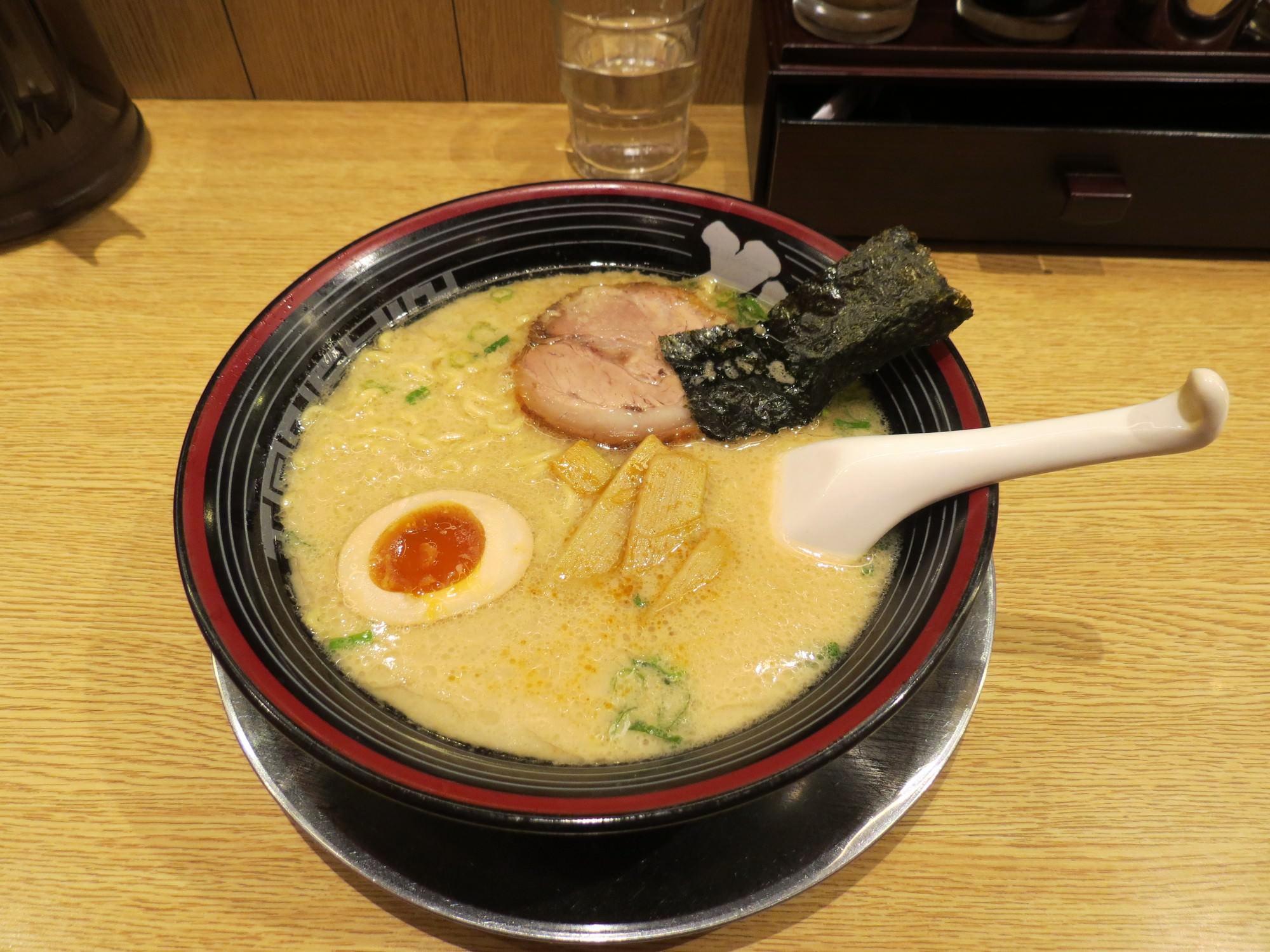 屯京拉麵@中山店, 餐點, 東京豚骨拉麵