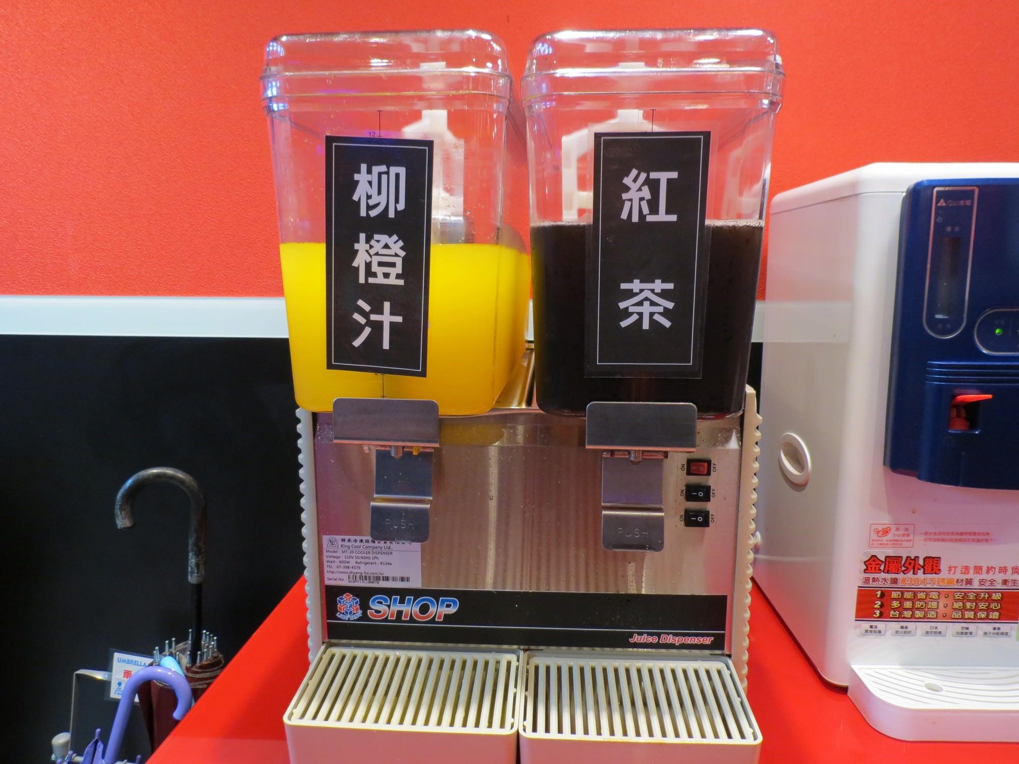 孫東寶台式牛排@南港店, 飲料