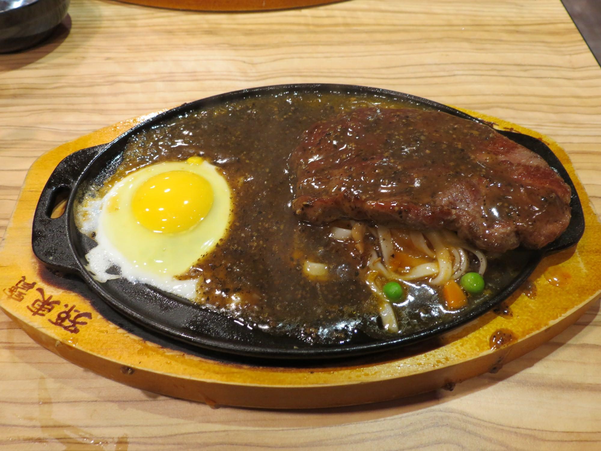 孫東寶台式牛排@南港店, 餐點