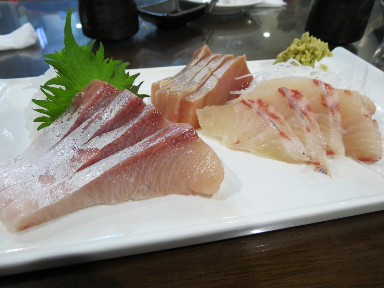 三鱻壽司, 餐點
