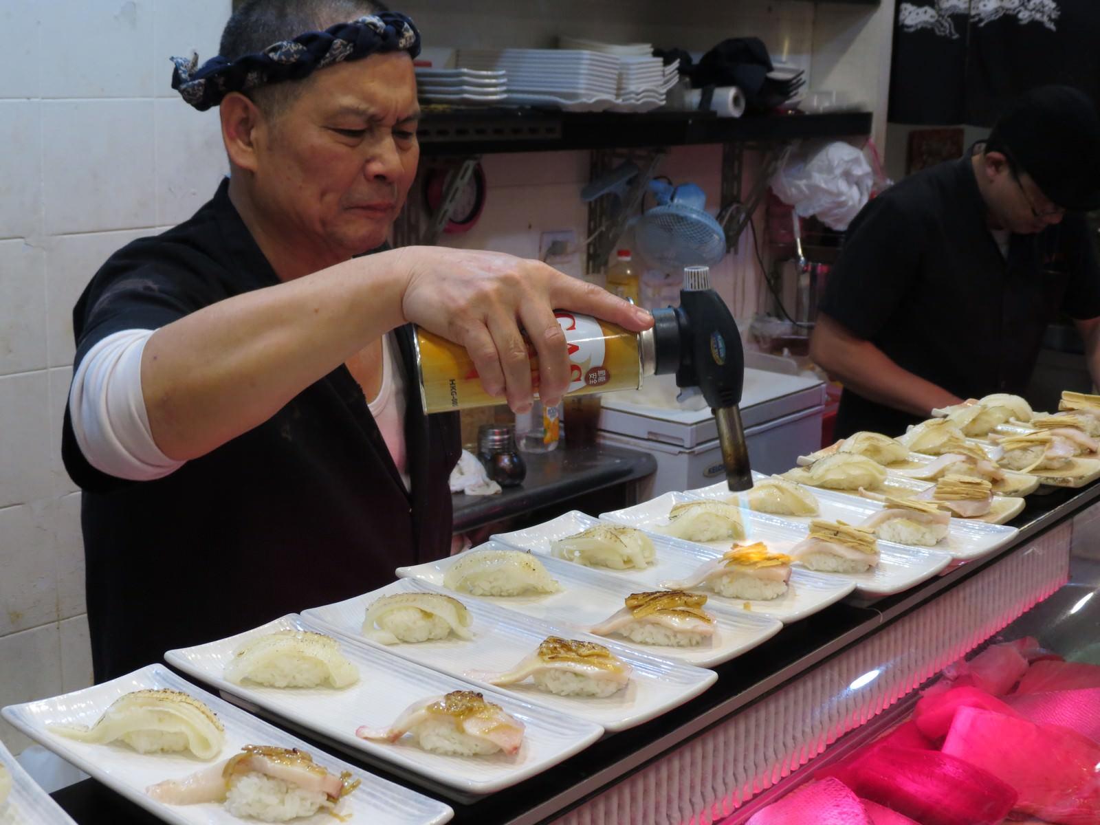 三鱻壽司, 用餐環境
