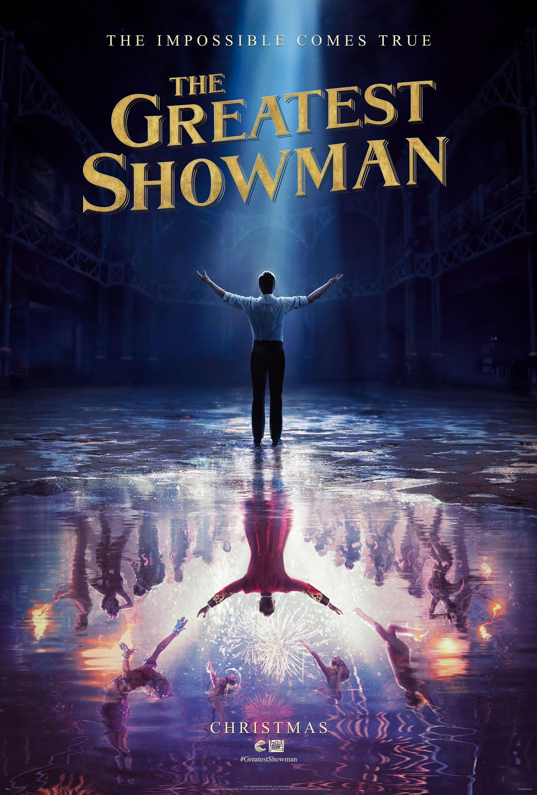 Movie, The Greatest Showman(美國) / 大娛樂家(台.港) / 马戏之王(中), 電影海報, 美國