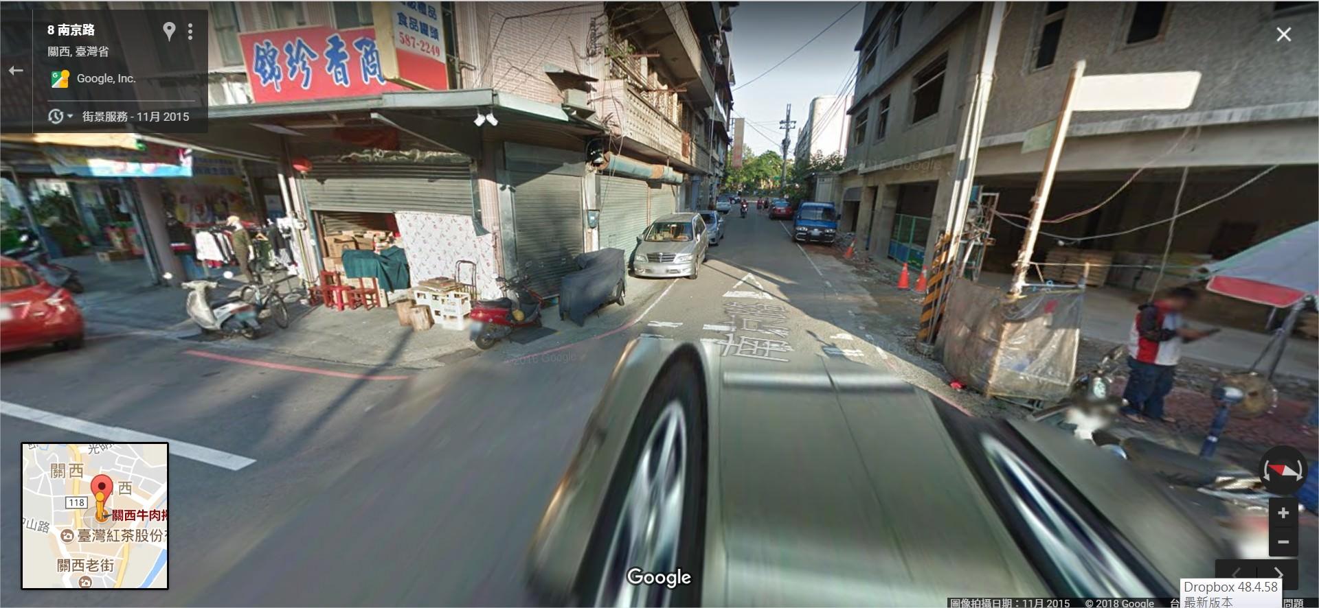 關西牛肉捲餅, 店面 & 地理位置, Google Map