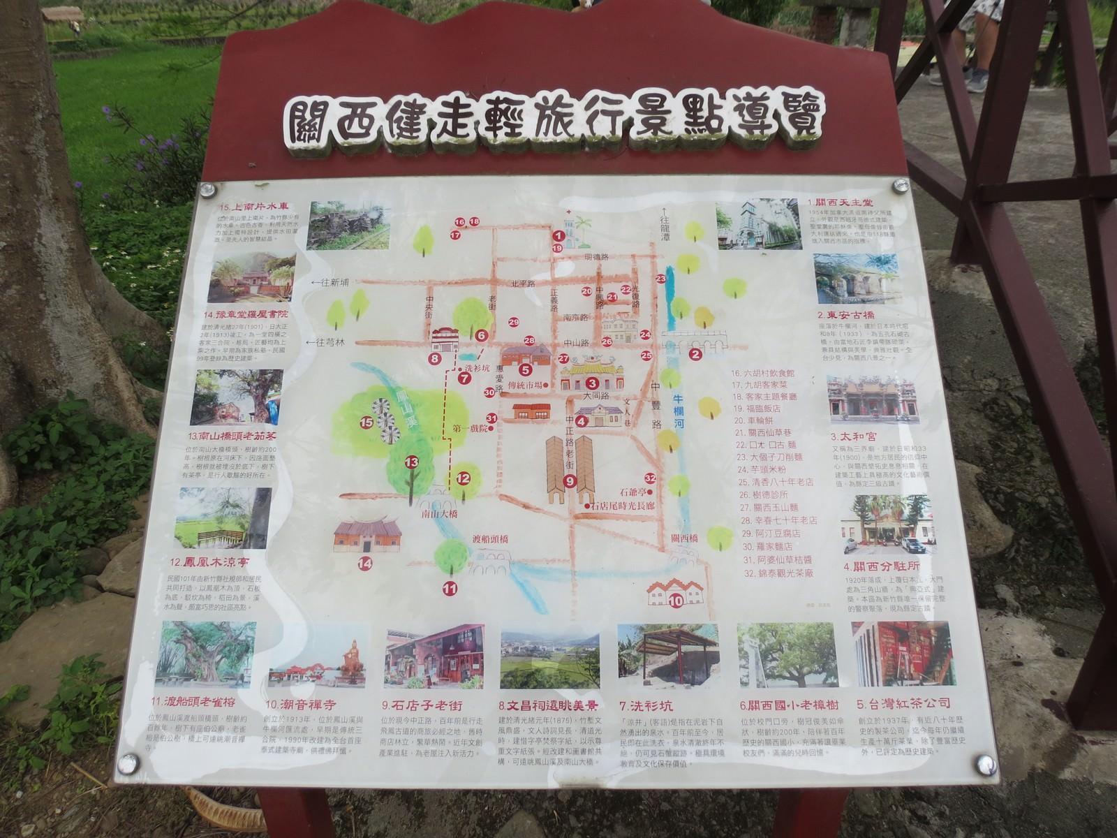 關西立夏小旅行, 關西建走輕旅行景點導覽