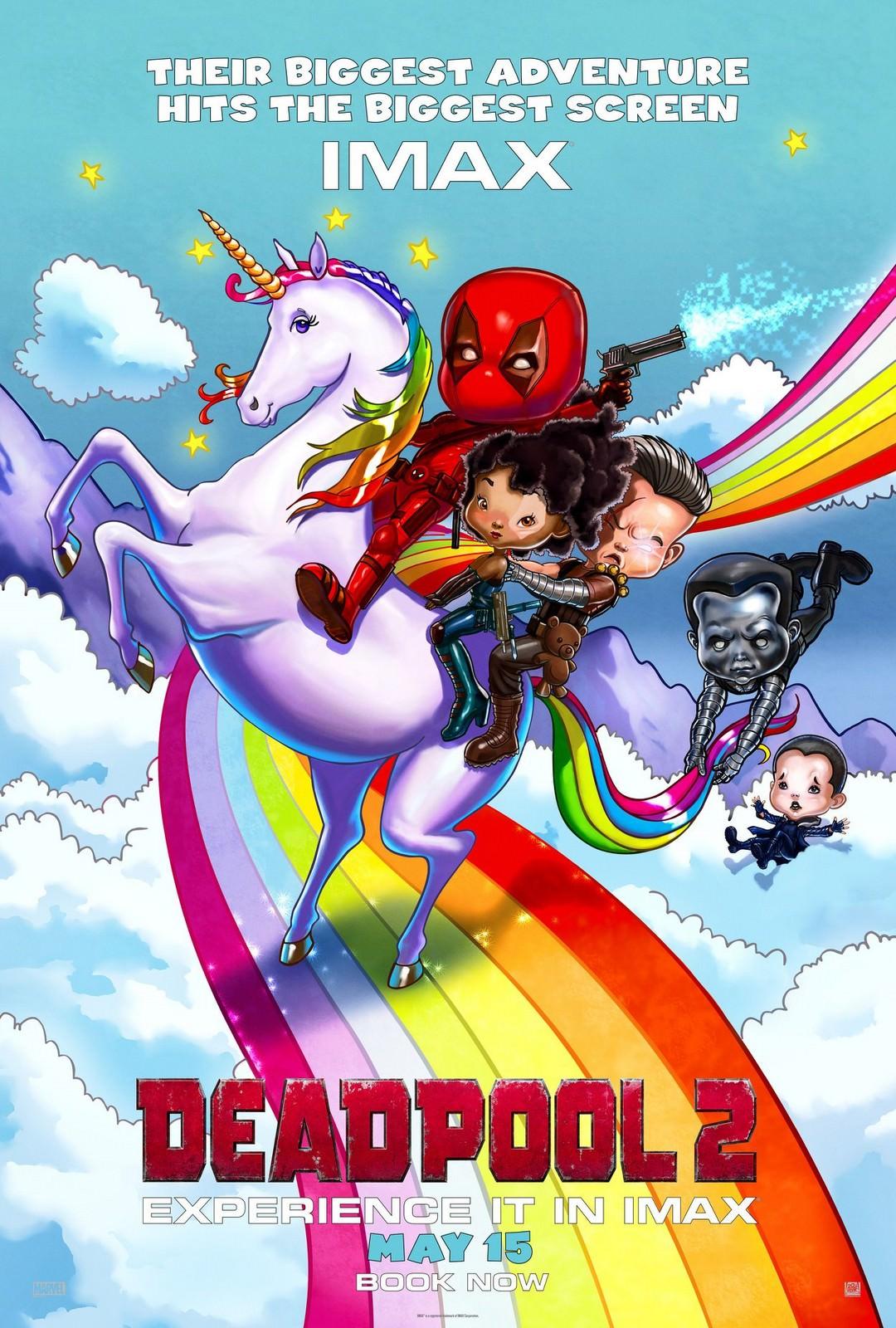 Movie, Deadpool 2(美國) / 死侍2(台.中.港), 電影海報, 美國, IMAX