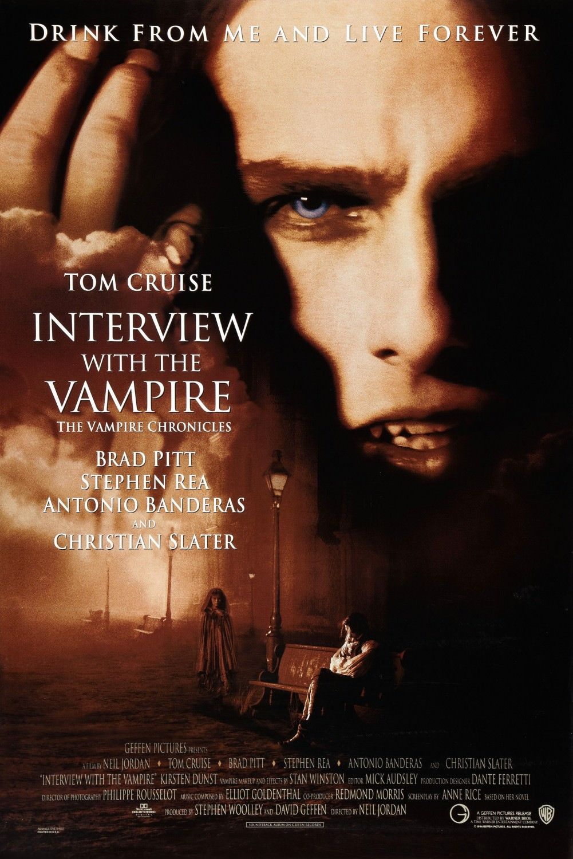 Movie, Interview with the Vampire: The Vampire Chronicles(美國) / 夜訪吸血鬼(台) / 吸血迷情(港), 電影海報, 美國