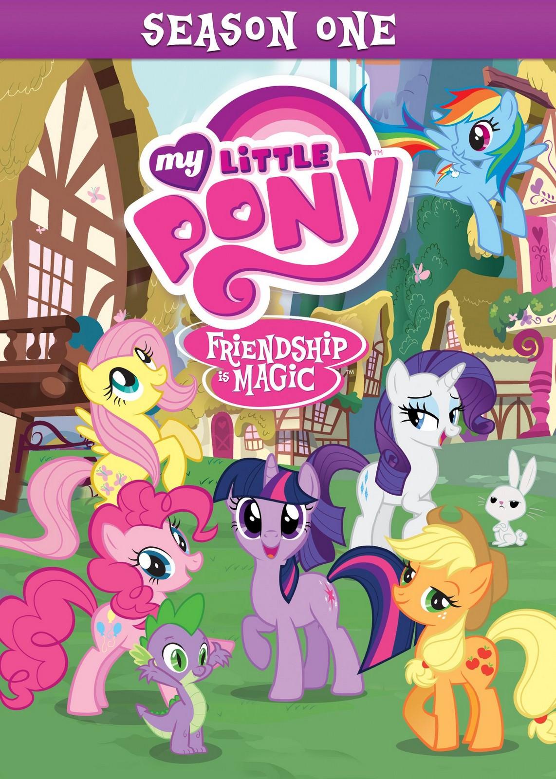 tv series, My Little Pony: Friendship Is Magic(美國.加拿大) / 彩虹小馬(台) / 小马宝莉(中) / 小馬寶莉(港), 封面
