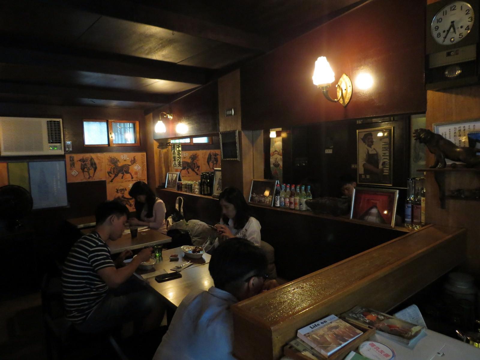 寅樂屋咖啡咖哩小食堂, 用餐空間