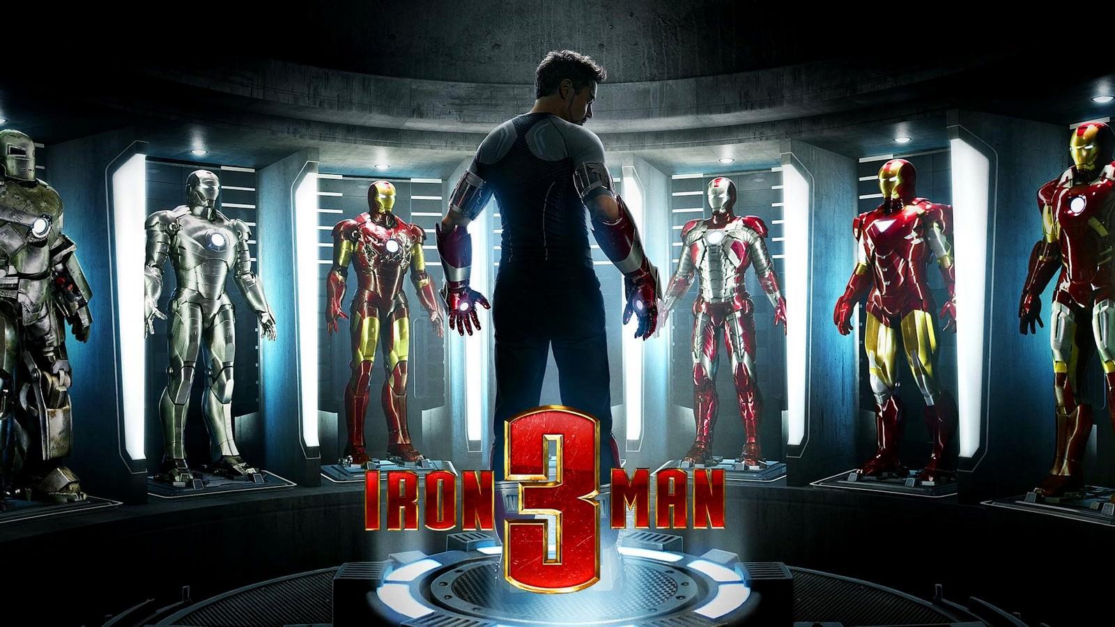 Movie, Iron Man 3(美國) / 鋼鐵人3(台) / 钢铁侠3(中) / 鐵甲奇俠3(港), 電影海報, 美國, 橫版