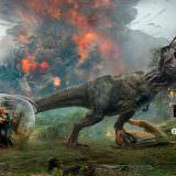 Movie, Jurassic World: Fallen Kingdom(美國) / 侏羅紀世界:殞落國度(台) / 侏罗纪世界2(中) / 侏羅紀世界:迷失國度(港), 電影海報, 台灣, 橫版