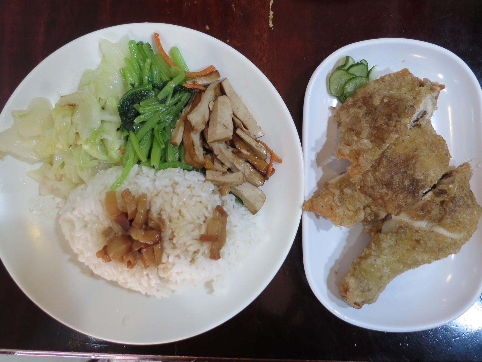 金軒排骨 西門總店, 餐點, 雞腿飯