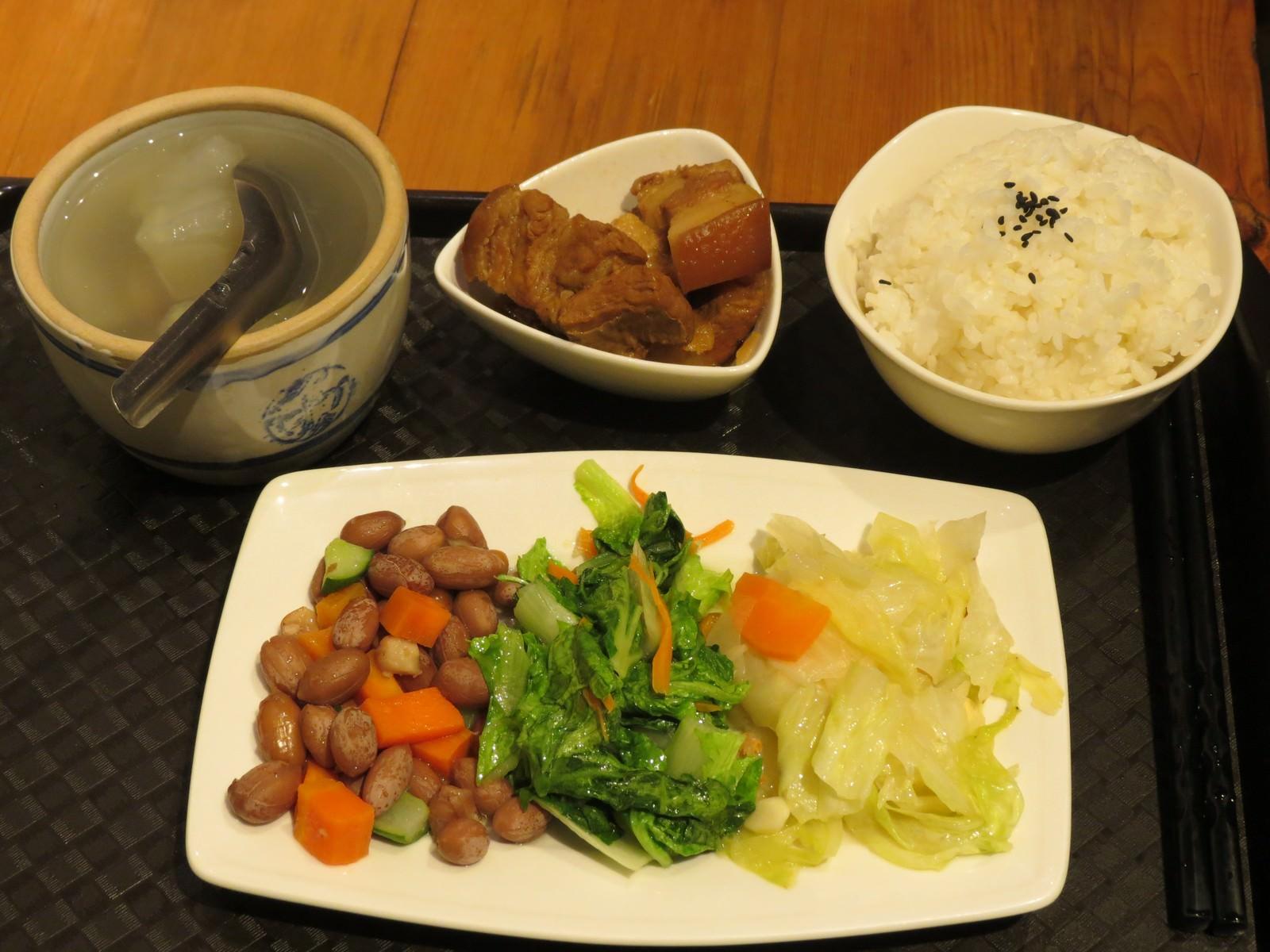 J. Caf'e, 餐點, 爌肉套餐