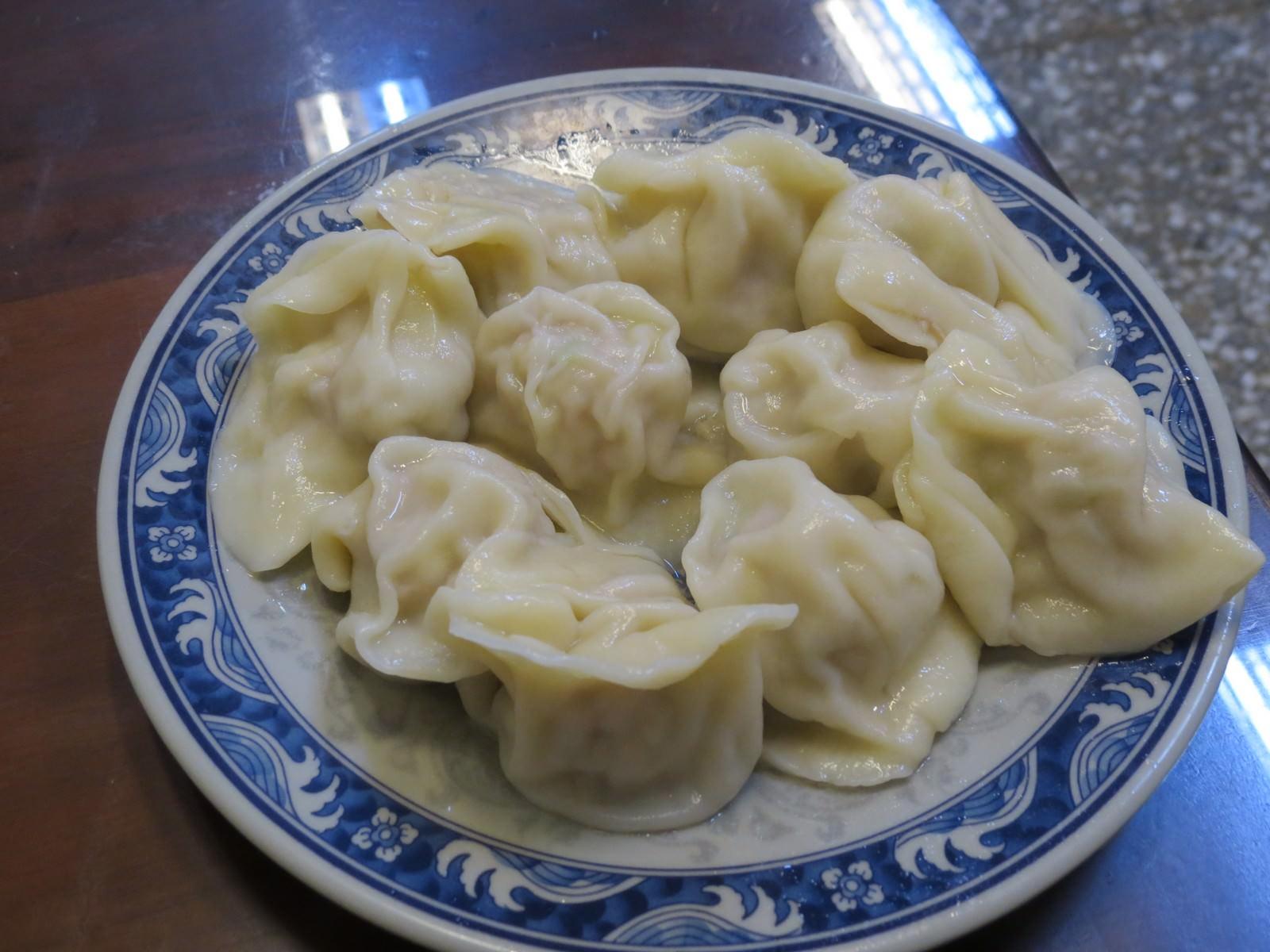 豪季水餃專賣店@伊通店, 餐點, 豬肉水餃