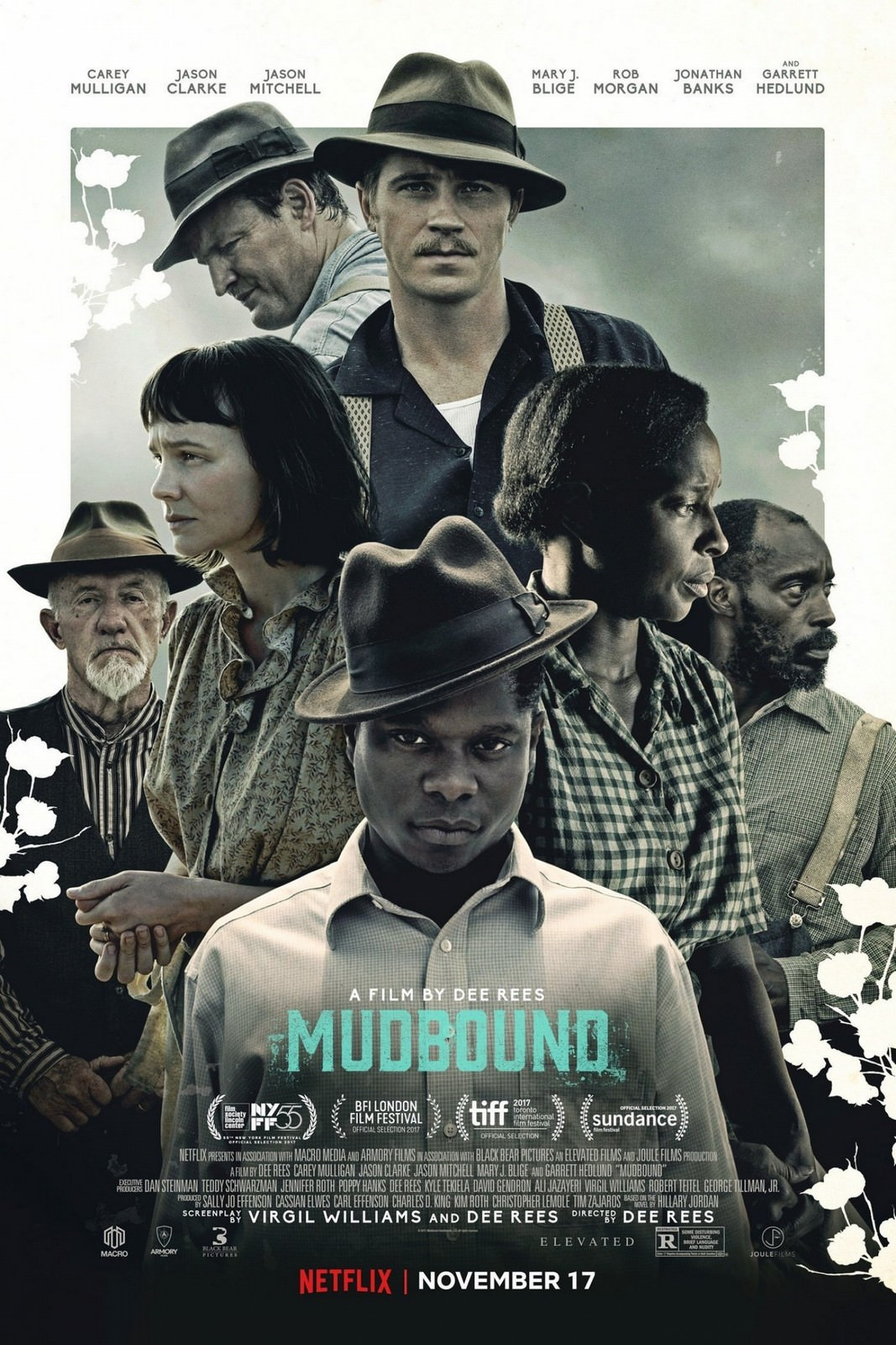 Movie, Mudbound / 泥沼(台) / 泥土之界(網), 電影海報, 美國