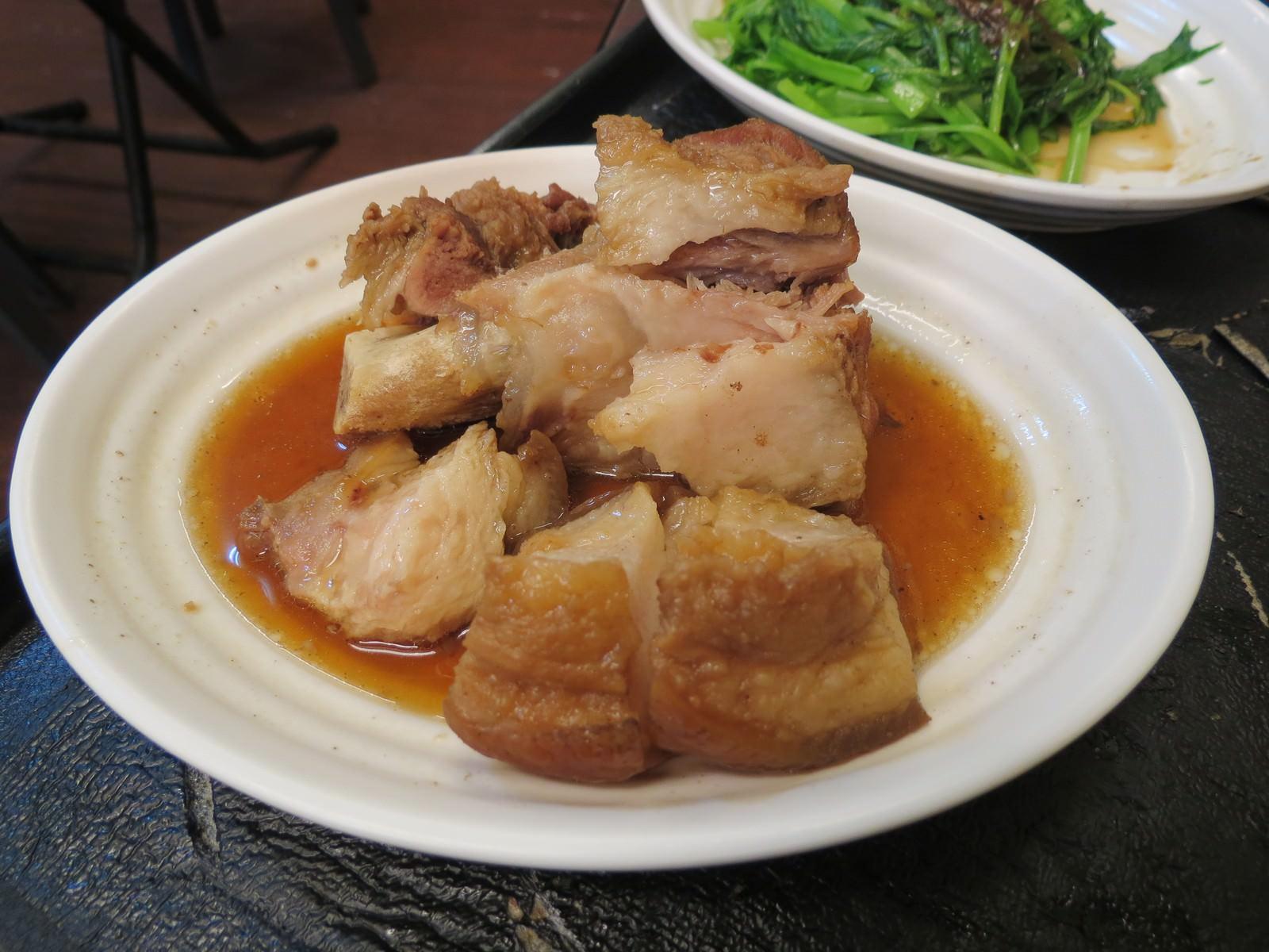 阿鴻知高飯‧鱸魚湯@廣州街夜市, 餐點