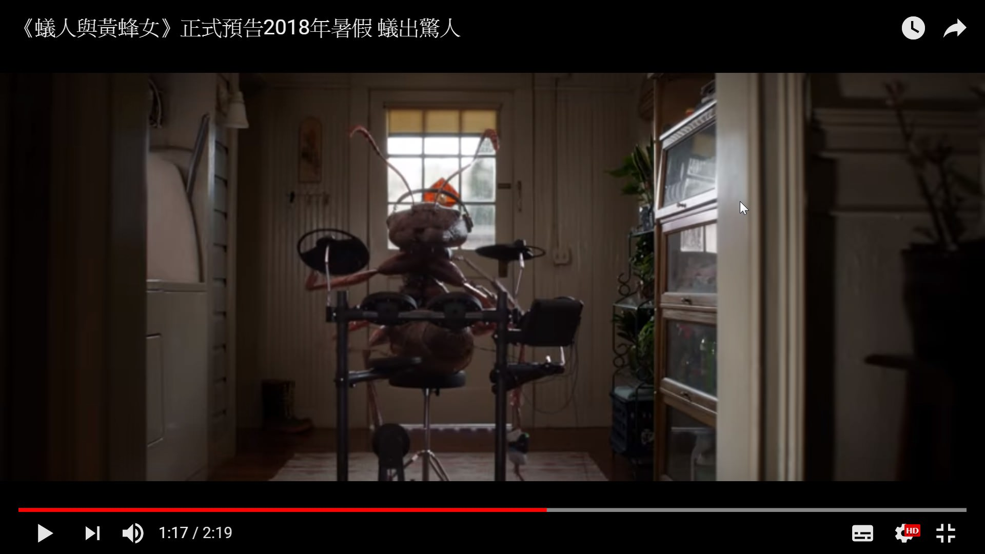 Movie, Ant-Man and the Wasp(美國.英國) / 蟻人與黃蜂女(台) / 蚁人2:黄蜂女现身(中) / 蟻俠2:黃蜂女現身(港), 電影預告