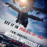 Movie, Mission: Impossible - Fallout(美國, 2018) / 不可能的任務:全面瓦解(台) / 碟中谍6:全面瓦解(中) / 職業特工隊:叛逆之謎(港), 電影海報, 美國, RealD 3D