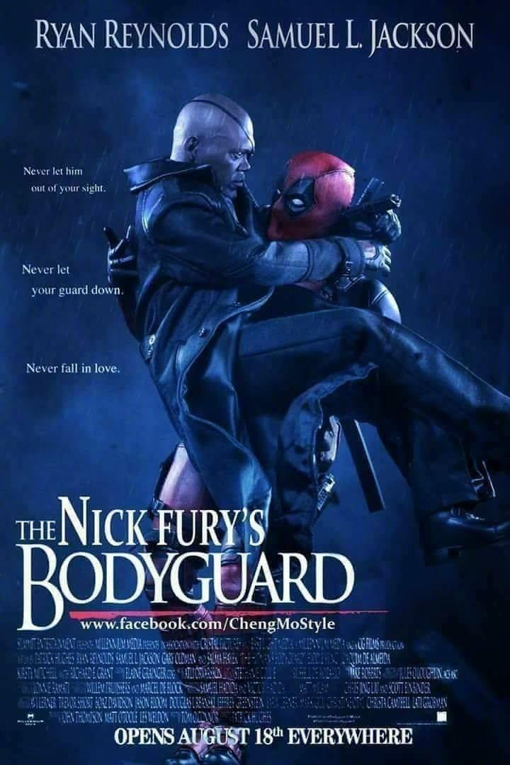 Movie, The Hitman's Bodyguard(美國) / 殺手保鑣(台) / 王牌保镖(中) / 鑣救殺手(港), 粉絲創作電影海報