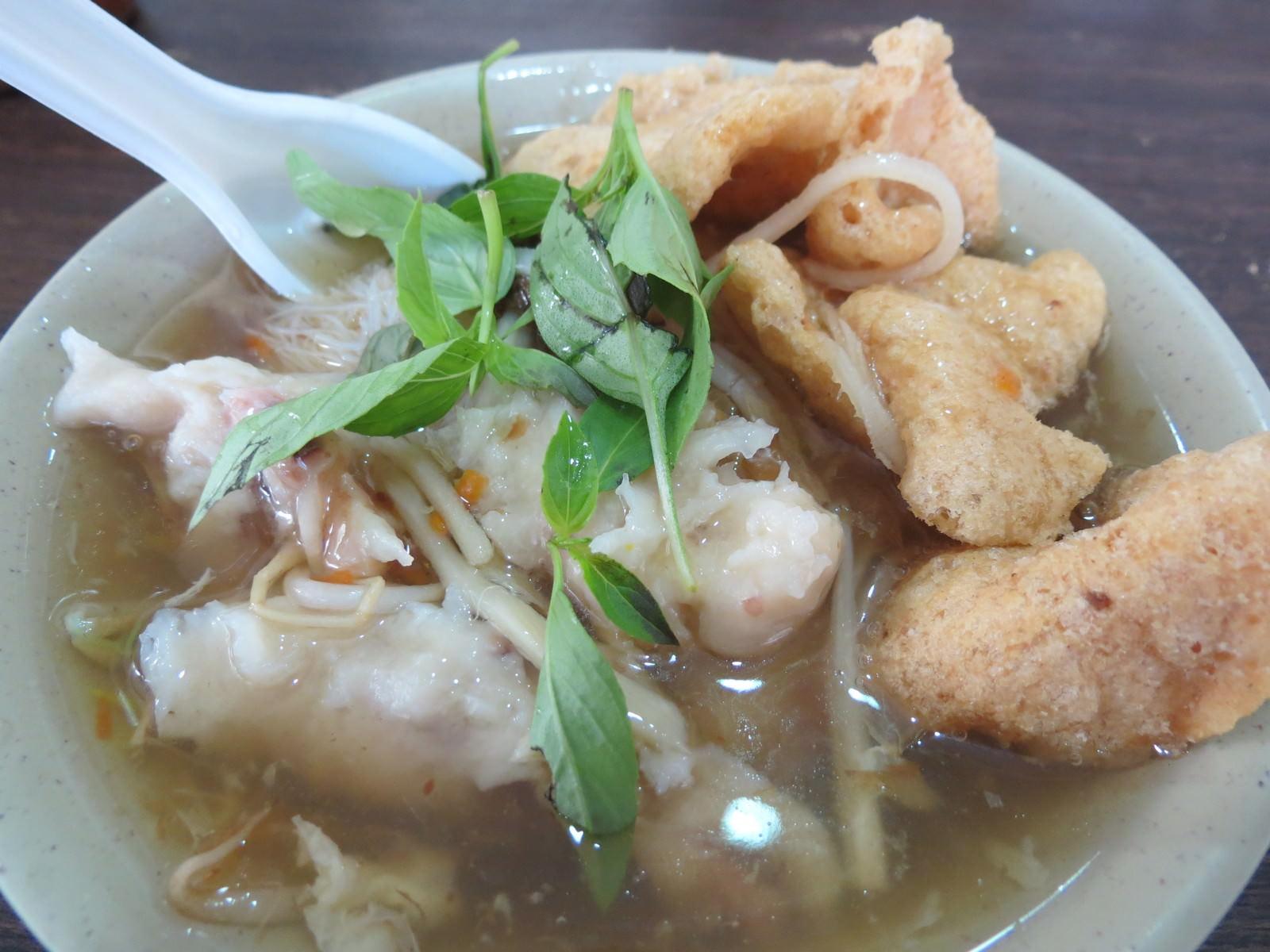 林清山魷魚羹, 綜合羹米粉