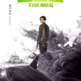 Movie, The Meg(美國.中國, 2018) / 巨齒鯊(台) / 巨齿鲨(中) / 極悍巨鯊(港), 電影海報, 中國, 角色