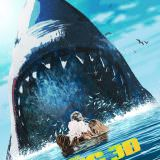 Movie, The Meg(美國.中國, 2018) / 巨齒鯊(台) / 巨齿鲨(中) / 極悍巨鯊(港), 電影海報, 美國, RealD 3D