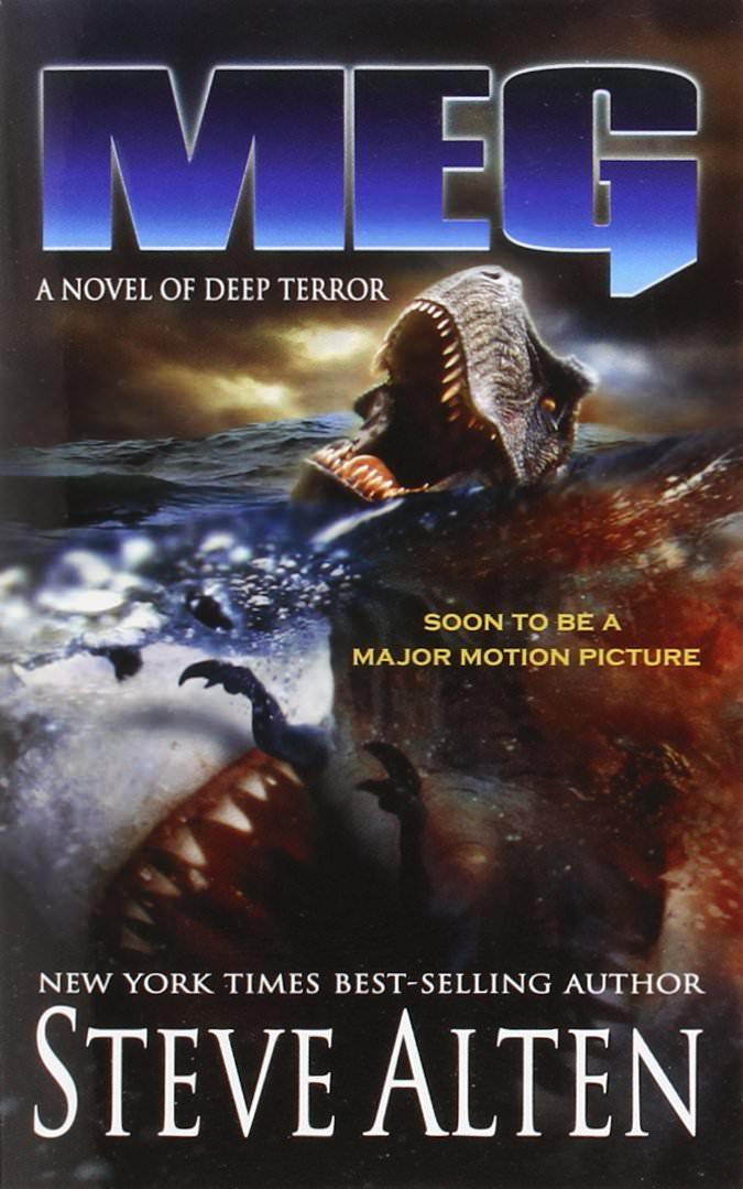 Novel, Meg: A Novel of Deep Terror(美國) / 深海侏羅紀(台), 封面