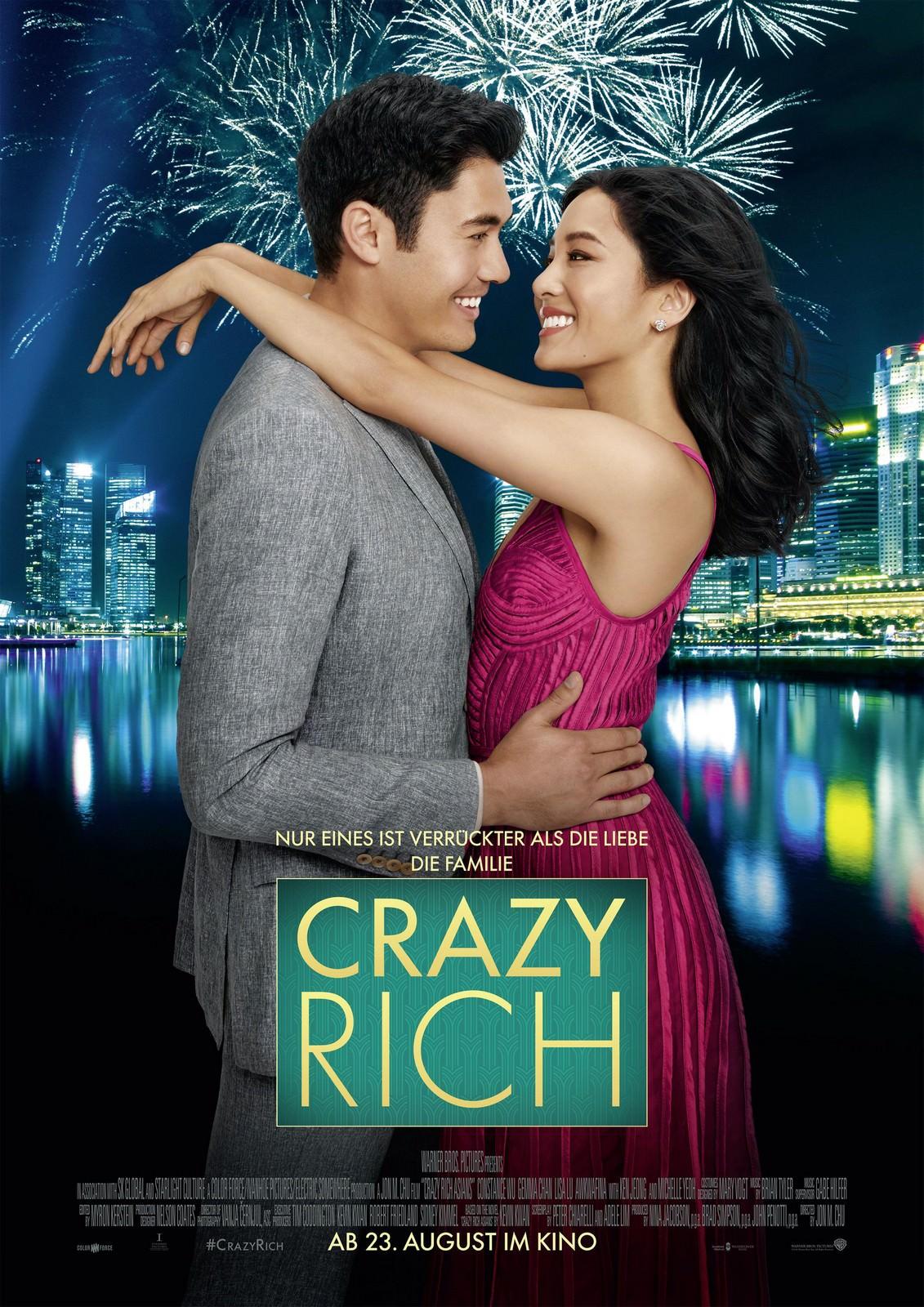 Movie, Crazy Rich Asians(美國, 2018) / 瘋狂亞洲富豪(台) / 我的超豪男友(港) / 摘金奇缘(網), 電影海報, 德國